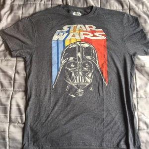 Men's Large Star Wars T-Shirt Darth Vader